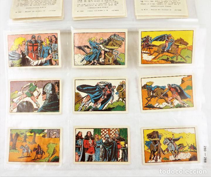 Tebeos: El Guerrero del antifaz. Colección cromos completa series I,II,III y IV - Foto 4 - 216673871
