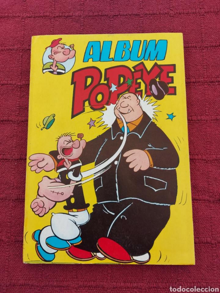 ALBUM POPEYE NUMERO 1, BUEN ESTADO ,COLOSOS DEL COMIC POPEYE, RETAPADO CON 4 COMIC (Tebeos y Comics - Valenciana - Colosos del Comic)