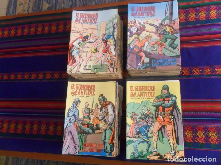 MUY BUEN PRECIO EL GUERRERO DEL ANTIFAZ NºS 1 AL 264 SUELTOS EN MUY BUEN ESTADO. ED. VALENCIANA 1972 (Tebeos y Comics - Valenciana - Guerrero del Antifaz)