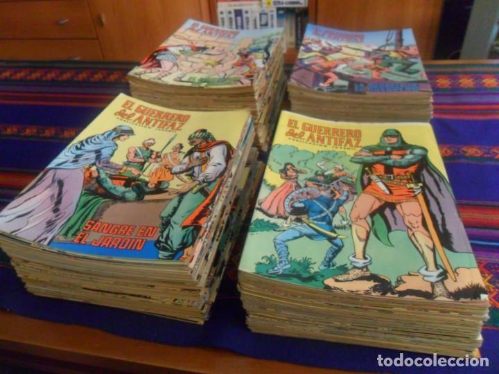 Tebeos: MUY BUEN PRECIO EL GUERRERO DEL ANTIFAZ NºS 1 AL 264 SUELTOS EN MUY BUEN ESTADO. ED. VALENCIANA 1972 - Foto 2 - 217058456