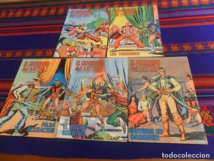 Tebeos: MUY BUEN PRECIO EL GUERRERO DEL ANTIFAZ NºS 1 AL 264 SUELTOS EN MUY BUEN ESTADO. ED. VALENCIANA 1972 - Foto 3 - 217058456