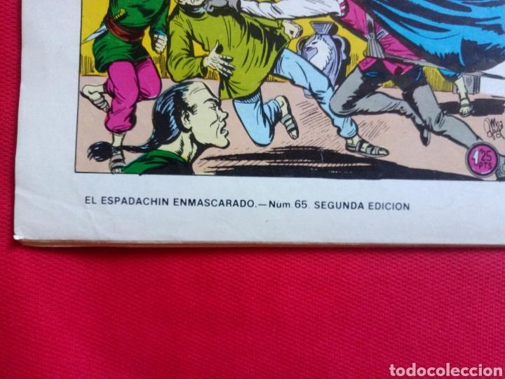 Tebeos: EL ESPADACHIN ESMASCARADO VERSIÓN ORIGINAL NUM 65 SEGUNDA EDICIÓN - Foto 4 - 217116258