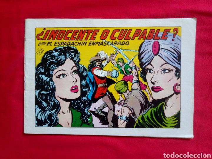 EL ESPADACHIN ESMASCARADO VERSIÓN ORIGINAL NUM 65 SEGUNDA EDICIÓN (Tebeos y Comics - Valenciana - Espadachín Enmascarado)