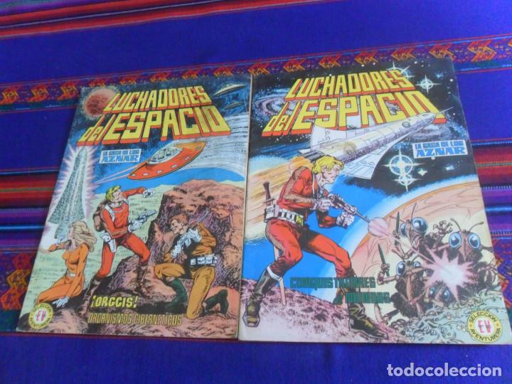 LUCHADORES DEL ESPACIO LA SAGA DE LOS AZNAR 2 5 16. SELECCIÓN AVENTURERA 60 66 92. VALENCIANA 1978 (Tebeos y Comics - Valenciana - Selección Aventurera)