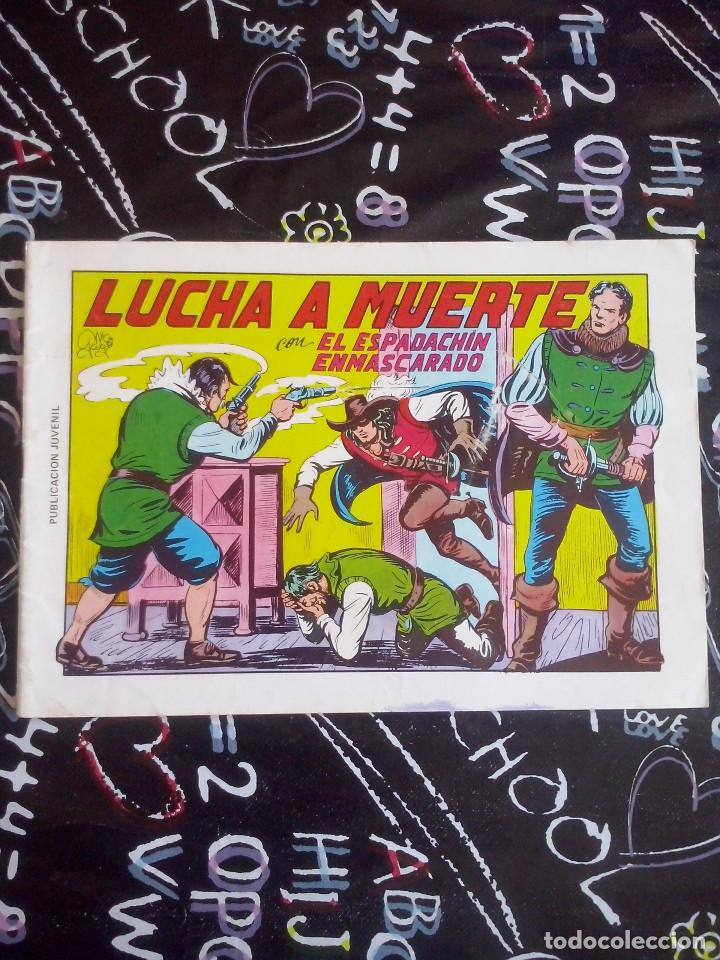 VALENCIANA - EL ESPADACHIN ENMASCARADO NUM. 10 SEGUNDA EDICION (Tebeos y Comics - Valenciana - Espadachín Enmascarado)