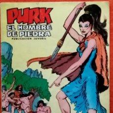 Tebeos: PURK EL HOMBRE DE PIEDRA Nº 7 MANÍA LA FEROZ. Lote 217575577