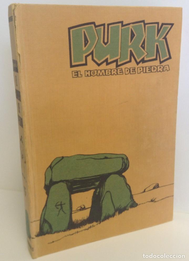 PURK, EL HOMBRE DE PIEDRA: TOMO 1 - 20 EPISODIOS - MANUEL GAGO - 1974 *** EDITORIAL VALENCIANA *** (Tebeos y Comics - Valenciana - Purk, el Hombre de Piedra)