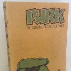 Tebeos: PURK, EL HOMBRE DE PIEDRA: TOMO 1 - 20 EPISODIOS - MANUEL GAGO - 1974 *** EDITORIAL VALENCIANA ***. Lote 218088762