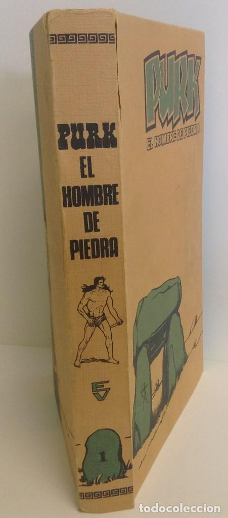 Tebeos: PURK, EL HOMBRE DE PIEDRA: TOMO 1 - 20 EPISODIOS - MANUEL GAGO - 1974 *** EDITORIAL VALENCIANA *** - Foto 3 - 218088762