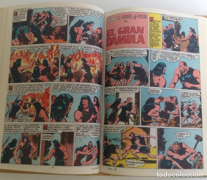 Tebeos: PURK, EL HOMBRE DE PIEDRA: TOMO 1 - 20 EPISODIOS - MANUEL GAGO - 1974 *** EDITORIAL VALENCIANA *** - Foto 11 - 218088762
