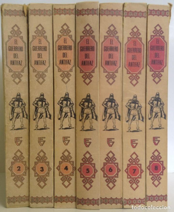 EL GUERRERO DEL ANTIFAZ - LOTE DE 7 TOMOS - 140 EPISODIOS - 1974 - MANUEL GAGO **EDI. VALENCIANA** (Tebeos y Comics - Valenciana - Guerrero del Antifaz)