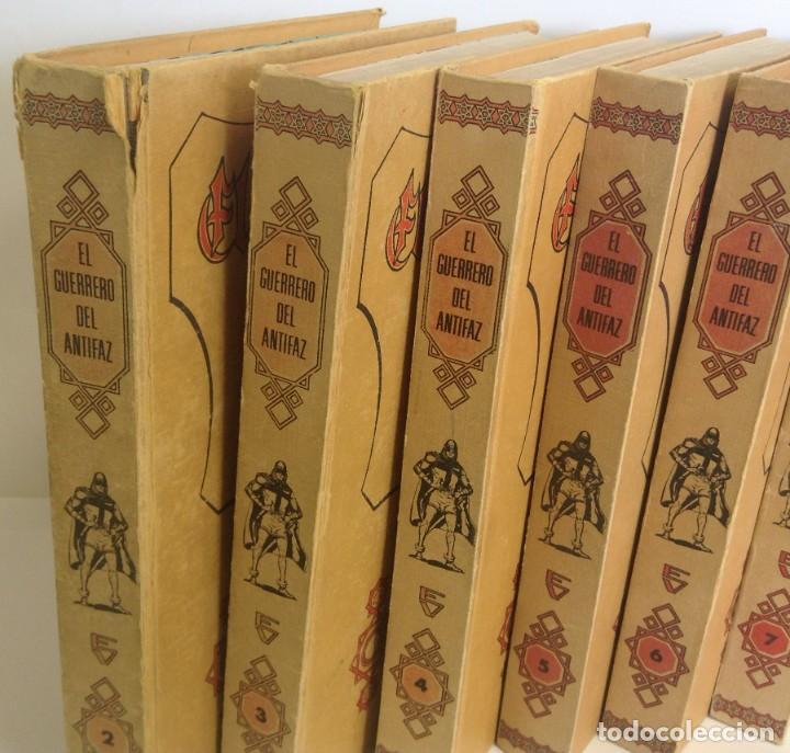 Tebeos: EL GUERRERO DEL ANTIFAZ - LOTE DE 7 TOMOS - 140 EPISODIOS - 1974 - MANUEL GAGO **EDI. VALENCIANA** - Foto 3 - 218089976