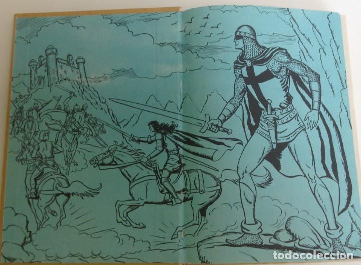 Tebeos: EL GUERRERO DEL ANTIFAZ - LOTE DE 7 TOMOS - 140 EPISODIOS - 1974 - MANUEL GAGO **EDI. VALENCIANA** - Foto 9 - 218089976