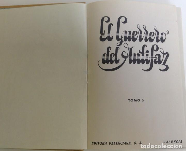 Tebeos: EL GUERRERO DEL ANTIFAZ - LOTE DE 7 TOMOS - 140 EPISODIOS - 1974 - MANUEL GAGO **EDI. VALENCIANA** - Foto 10 - 218089976