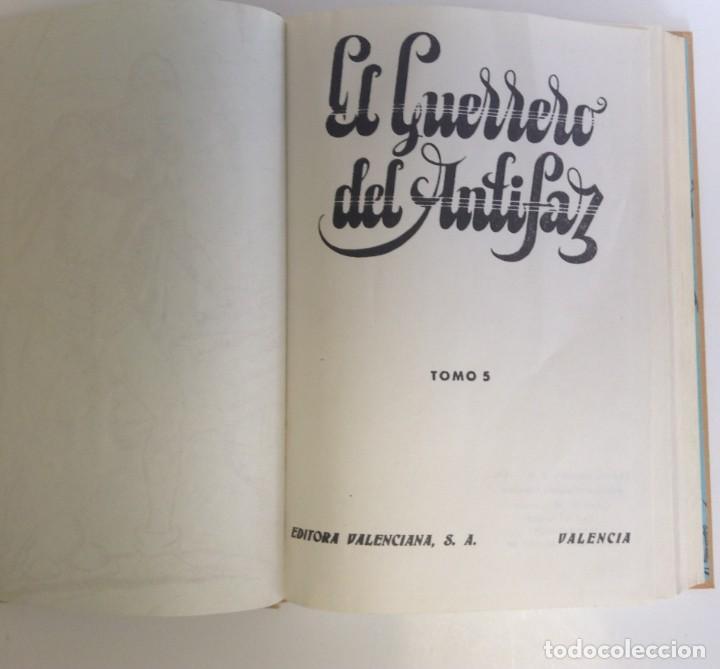 Tebeos: EL GUERRERO DEL ANTIFAZ - LOTE DE 7 TOMOS - 140 EPISODIOS - 1974 - MANUEL GAGO **EDI. VALENCIANA** - Foto 18 - 218089976