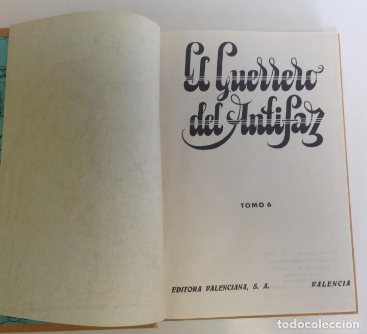 Tebeos: EL GUERRERO DEL ANTIFAZ - LOTE DE 7 TOMOS - 140 EPISODIOS - 1974 - MANUEL GAGO **EDI. VALENCIANA** - Foto 22 - 218089976