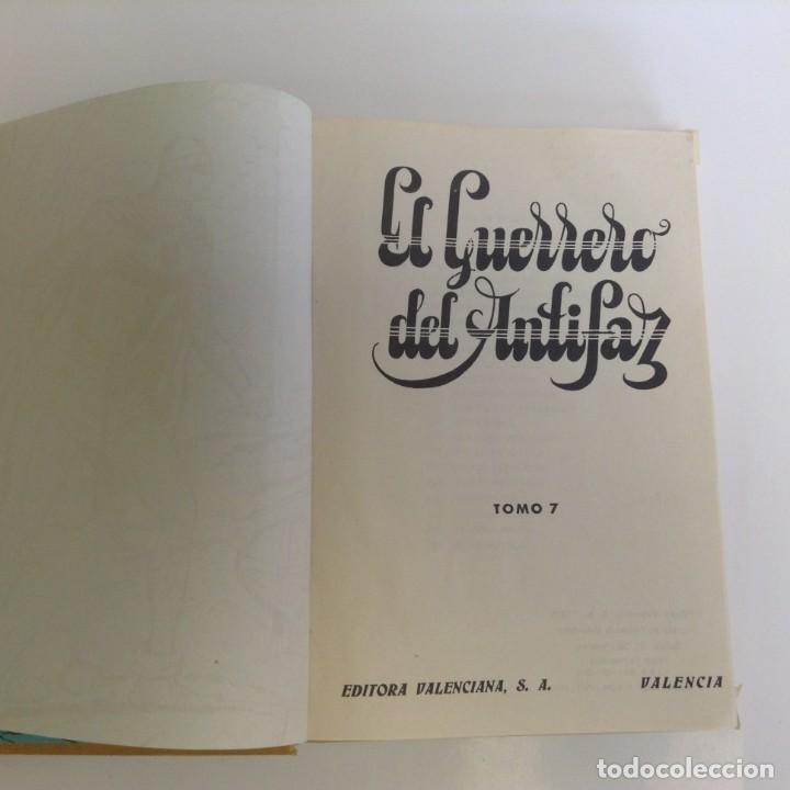 Tebeos: EL GUERRERO DEL ANTIFAZ - LOTE DE 7 TOMOS - 140 EPISODIOS - 1974 - MANUEL GAGO **EDI. VALENCIANA** - Foto 26 - 218089976