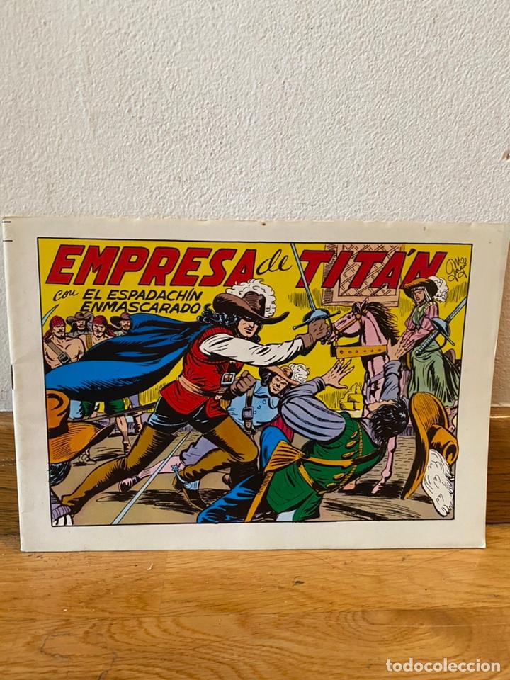 EMPRESA DE TITÁN EL ESPADACHÍN ENMASCARADO NÚMERO 21 (Tebeos y Comics - Valenciana - Espadachín Enmascarado)
