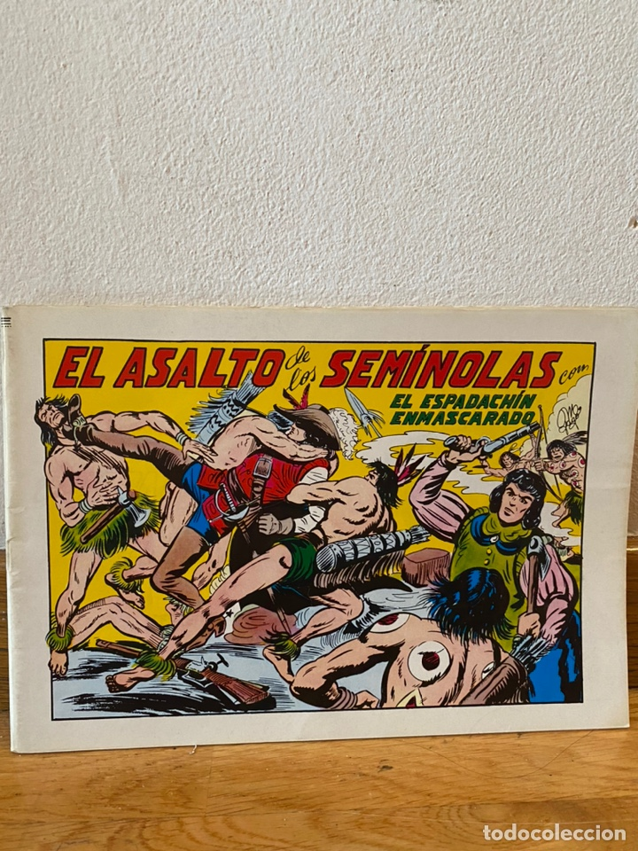 EL ASALTO DE LOS SEMINOLAS EL ESPADACHÍN ENMASCARADO NÚMERO 33 (Tebeos y Comics - Valenciana - Espadachín Enmascarado)