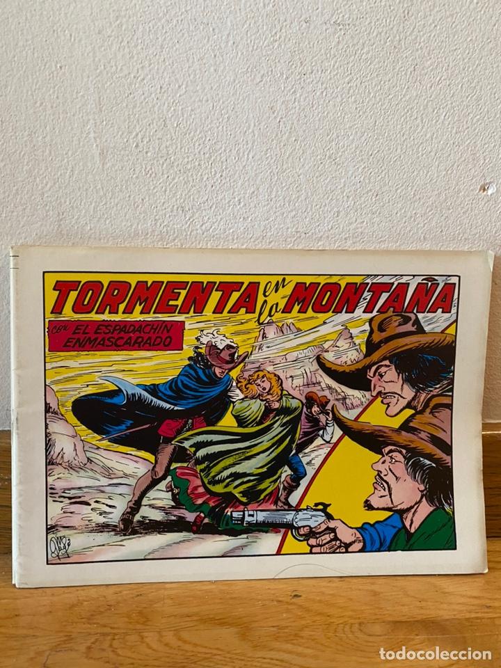 TORMENTA EN LA MONTAÑA EL ESPADACHÍN ENMASCARADO NÚMERO 48 (Tebeos y Comics - Valenciana - Espadachín Enmascarado)