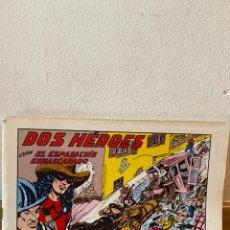 Tebeos: DOS HEROES EL ESPADACHÍN ENMASCARADO NÚMERO 53. Lote 218292118