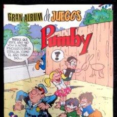 Tebeos: GRAN ALBUM DE JUEGOS PUMBY Nº 59 - VALENCIANA 1984 ''BUEN ESTADO''. Lote 218327138