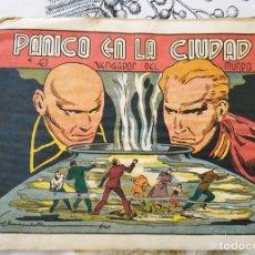 Tebeos: EL VENGADOR DEL MUNDO N.º 10 PANICO EN LA CIUDAD FIDEL PRADO / E. MARCULETA ED. VALENCIANA 1944. Lote 218340287