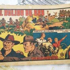 Tebeos: ROBERTO ALCAZAR N.º 90 EL BOLIDO DE ORO VAÑO ED. VALENCIANA 1941 ORIGINAL DE EPOCA. Lote 218341101
