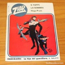 Tebeos: ZHAR 3 HUGO PRATT, SERGIO TOPPI, E. GALATE... EDITORIAL VALENCIANA 1983. Lote 218363298