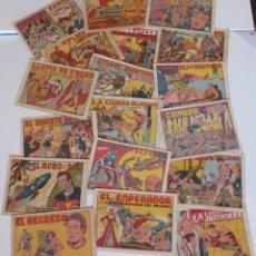 Tebeos: LOS EXPLORADORES DEL UNIVERSO, COMPLETA, VALENCIANA, ORIGINAL, AÑO 1949.. Lote 218370760