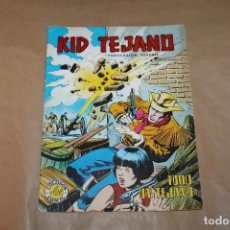 Tebeos: KID TEJANO Nº 16, COLOSOS DEL COMIC, VALENCIANA COLOR. Lote 218403043