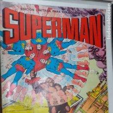 Tebeos: SUPERMAN - 4 AVENTURAS FANTASTICAS DEL HOMBRE DE ACERO - VALENCIANA 1976 - EN BUEN ESTADO. Lote 218422197