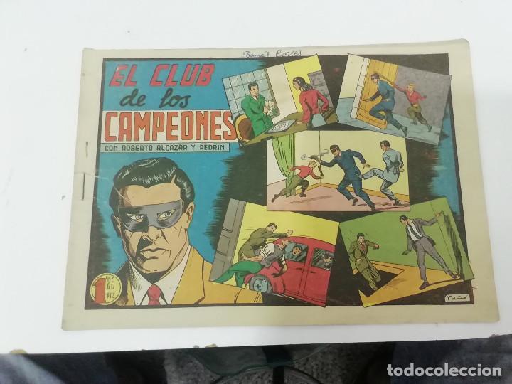 Tebeos: ROBERTO ALCÁZAR Y PEDRÍN - LOTE DE 50 NÚMEROS - VER Fotos Incluye num. 3 y 4. Números bajos - Foto 5 - 218467538