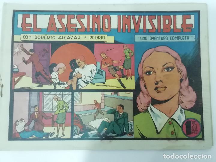 Tebeos: ROBERTO ALCÁZAR Y PEDRÍN - LOTE DE 50 NÚMEROS - VER Fotos Incluye num. 3 y 4. Números bajos - Foto 45 - 218467538