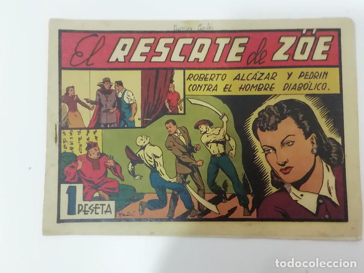 Tebeos: ROBERTO ALCÁZAR Y PEDRÍN - LOTE DE 50 NÚMEROS - VER Fotos Incluye num. 3 y 4. Números bajos - Foto 53 - 218467538