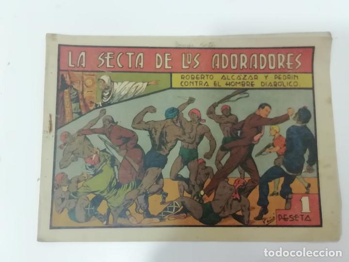 Tebeos: ROBERTO ALCÁZAR Y PEDRÍN - LOTE DE 50 NÚMEROS - VER Fotos Incluye num. 3 y 4. Números bajos - Foto 63 - 218467538