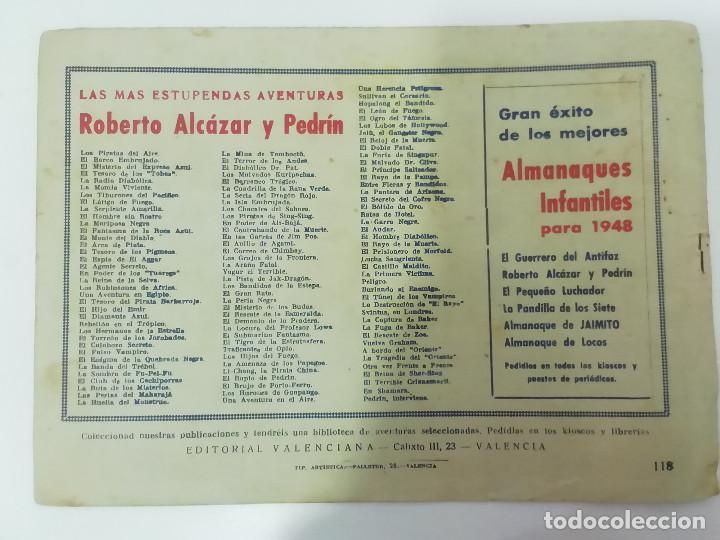 Tebeos: ROBERTO ALCÁZAR Y PEDRÍN - LOTE DE 50 NÚMEROS - VER Fotos Incluye num. 3 y 4. Números bajos - Foto 68 - 218467538