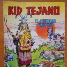 Tebeos: KID TEJANO Nº 4 - EL HECHICERO SINIESTRO - COLOSOS DEL COMIC Nº 54 (H1). Lote 218662501