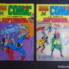 Tebeos: LOTE 2 COLOSOS DEL COMIC. LA FAMILIA SUPERMAN. Lote 218672568