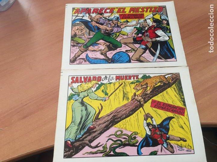 Tebeos: EL ESPADACHIN ENMASCARADO SEGUNDA EDICIÓN LOTE 65 EJEMPLARES (VALENCIANA ) (HAB3) - Foto 20 - 218721411