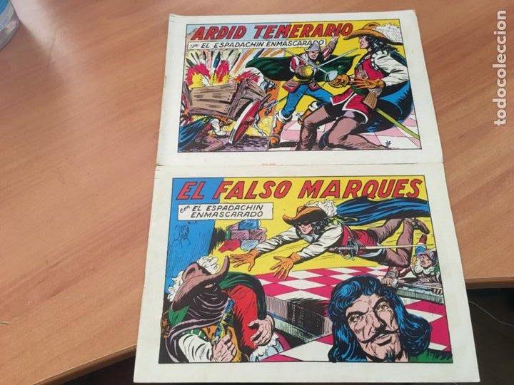 Tebeos: EL ESPADACHIN ENMASCARADO SEGUNDA EDICIÓN LOTE 65 EJEMPLARES (VALENCIANA ) (HAB3) - Foto 26 - 218721411