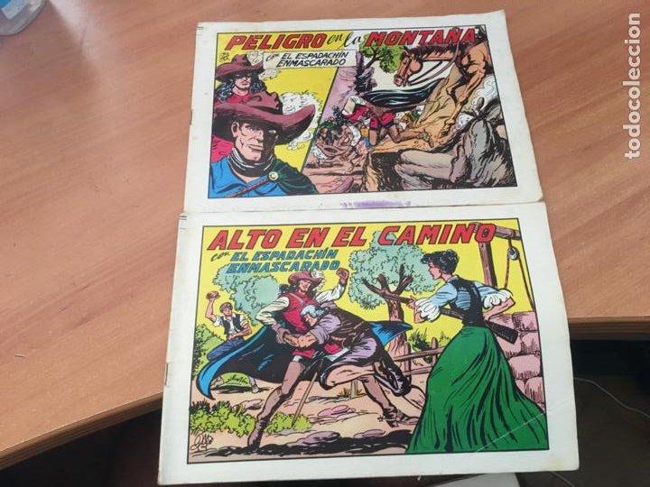 Tebeos: EL ESPADACHIN ENMASCARADO SEGUNDA EDICIÓN LOTE 65 EJEMPLARES (VALENCIANA ) (HAB3) - Foto 31 - 218721411