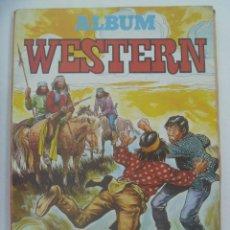 Tebeos: ALBUM WESTERN , LA MEJOR SELECCION DEL COMIC DEL OESTE. 3 NUMEROS EN ALBUM. VALENCIANA, 1982. Lote 218808671