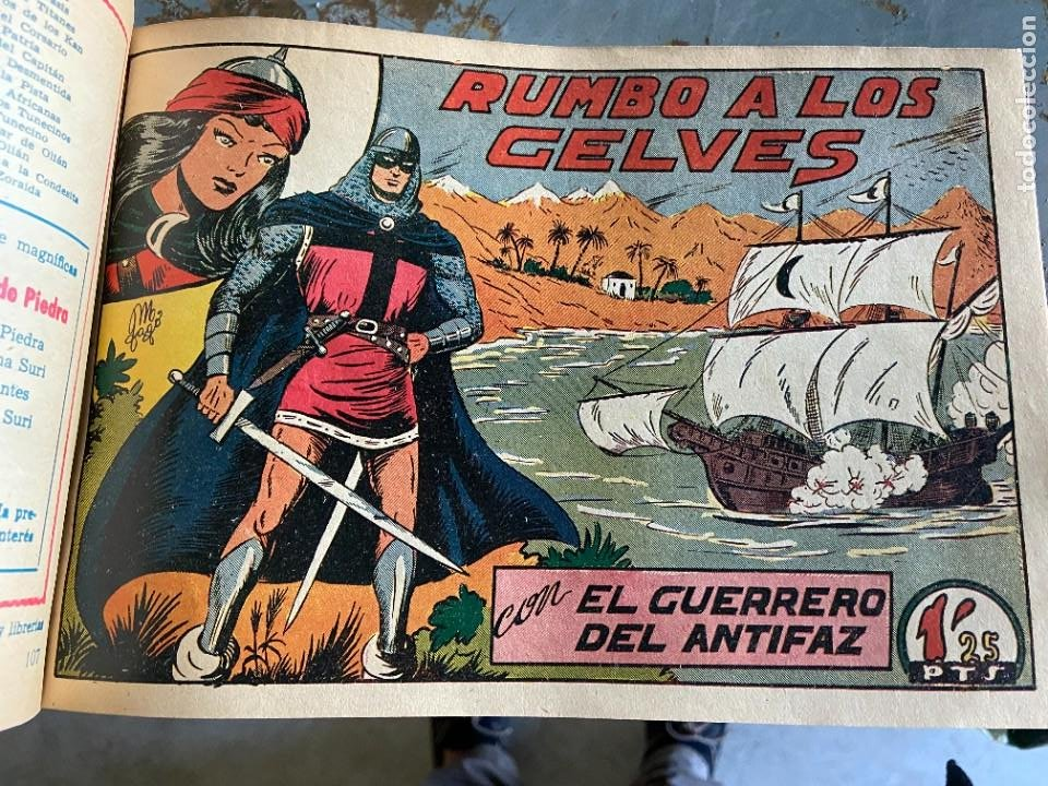 EL GUERRERO DEL ANTIFAZ COMPLETA BUEN ESTADO (Tebeos y Comics - Valenciana - Guerrero del Antifaz)