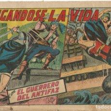Tebeos: EL GUERRERO DEL ANTIFAZ EDITORIAL VALENCIANA Nº 197. Lote 218862552