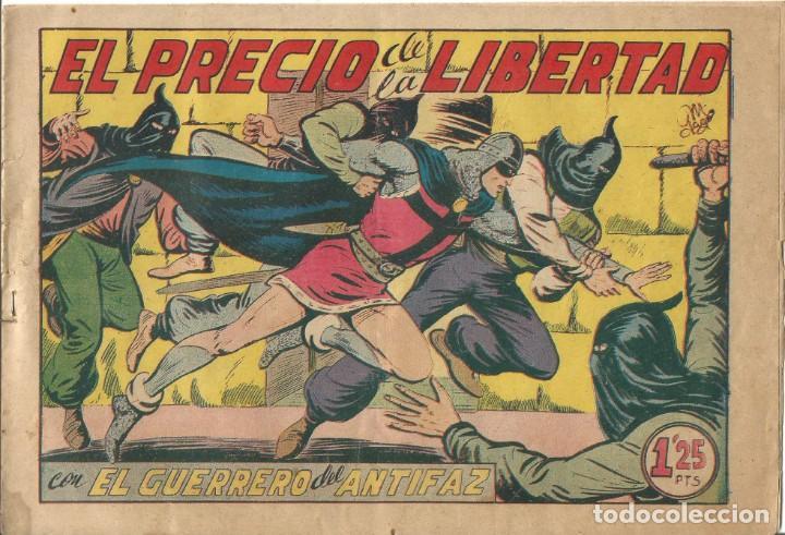 TEBEO EL GUERRERO DEL ANTIFAZ EDITORIAL VALENCIANA Nº 196 (Tebeos y Comics - Valenciana - Guerrero del Antifaz)