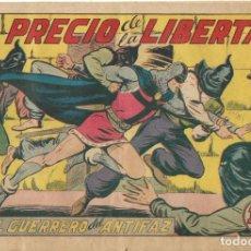 Tebeos: TEBEO EL GUERRERO DEL ANTIFAZ EDITORIAL VALENCIANA Nº 196. Lote 218862741