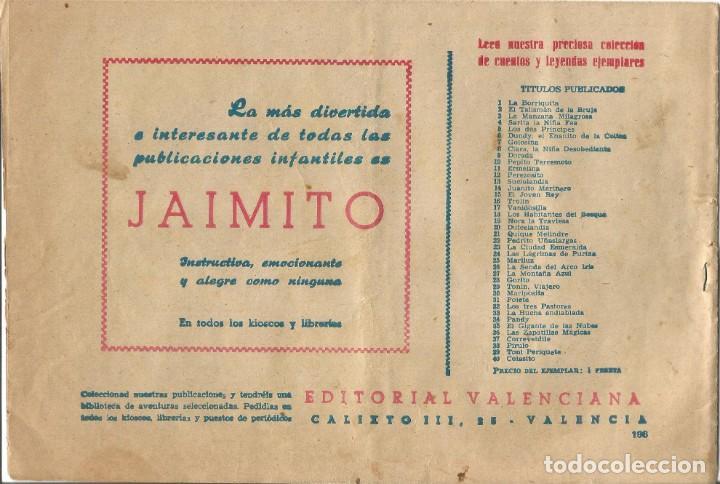 Tebeos: TEBEO EL GUERRERO DEL ANTIFAZ EDITORIAL VALENCIANA Nº 196 - Foto 2 - 218862741