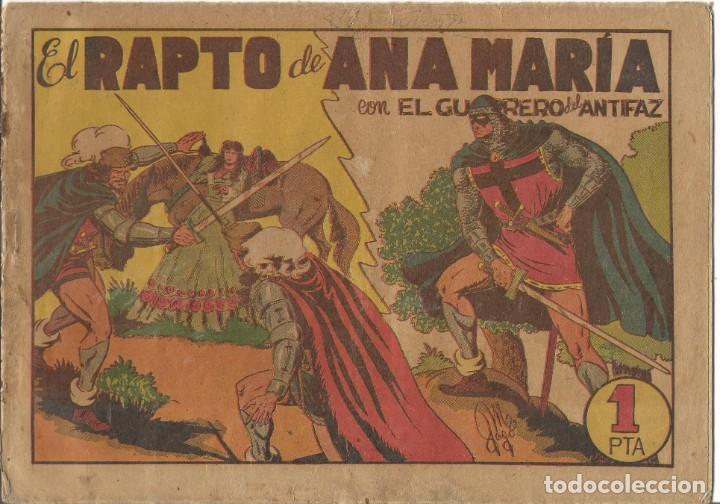 TEBEO EL GUERRERO DEL ANTIFAZ EDITORIAL VALENCIANA Nº 38 (Tebeos y Comics - Valenciana - Guerrero del Antifaz)