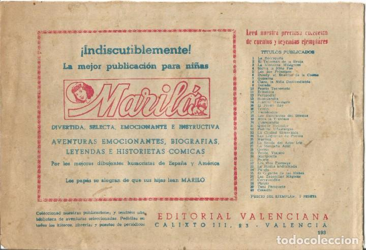Tebeos: TEBEO EL GUERRERO DEL ANTIFAZ EDITORIAL VALENCIANA Nº 193 - Foto 2 - 218863468